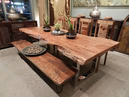Acacia Wood Dining Room Furniture Freeform Dining Table In Acacia Wood With Chrome Legs Favorite