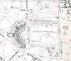 maptheatreofpompey jpg 2472 2121 sci fi pinterest roman