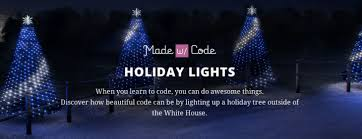 how to program christmas lights google gets thousands of girls to program the white house christmas