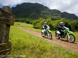 motocross bike hire kauai garden island dual sports motorcycle usa