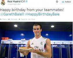 gareth bale birthday cake madrid learn
