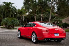 bentley coupe red 2014 bentley continental gt v8 s first test motor trend