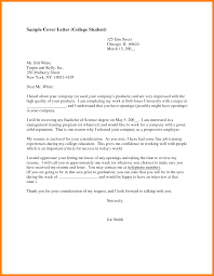 cover letter for cashier job college student cover letter template