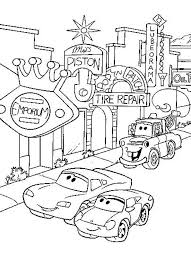 coloring winsome cars disney drawing coloring cars
