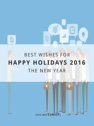 happy holidays 2016 and best wishes for the new year impact zone