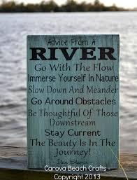 river home decor river home decor advice river wood sign by carovabeachcrafts