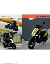 kymco agility 50 service manuals