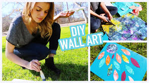 diy easy u0026 creative wall art ideas youtube