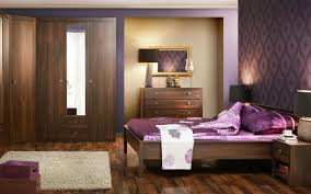 White Walls Dark Furniture Bedroom Purple Bedroom With Black Furniture Izfurniture