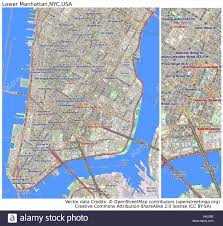 Map Of Manhattan New York City by Manhattan Map Vector Stock Photos U0026 Manhattan Map Vector Stock