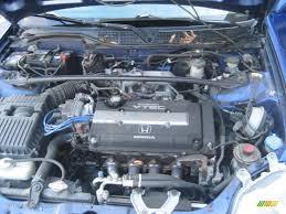 1999 honda civic engine 1999 honda civic si coupe 1 6 liter dohc 16v vtec 4 cylinder
