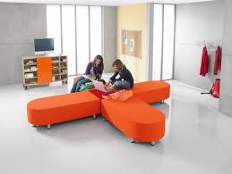 Half Round Sofas Relax Half Round Sofa Flame Resistant Fabric Group 2
