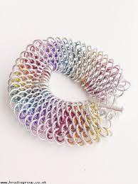 bracelet dragon rainbow images Latest styles rainbow chainmail bracelet dragon scale bracelet jpg