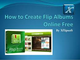 picture albums online how to create flip albums online free