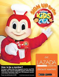 jollibee extends lazada discounts promo for new jollibee kids club