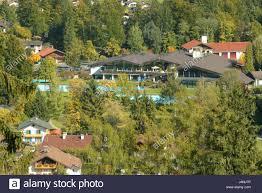 germany bavaria grainau local view swimming pool south