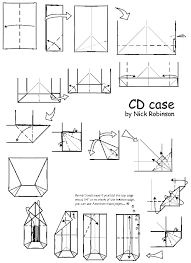 Origami Cd Cover - practical cd cover by nick robinson origami simple