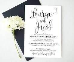 wedding invitation card template pdf blank rustic templates