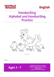 alphabet and handwriting practice 5 7 years tmk education