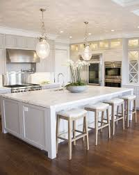 white island kitchen create a large kitchen island for yourself pickndecor