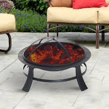 Outdoor Portable Fireplace Outsunny 30