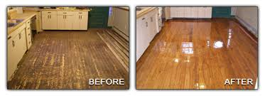 Refinished Hardwood Floors Before And After Before And After Hardwood Flooring