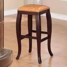 linon home decor bar stools linon san francisco square top bar stool brown 30 inch seat