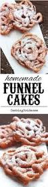 homemade funnel cakes recipe homemade funnel cake homemade