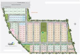 layout plan kavuri u0027s lemon leaf residential plots