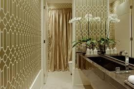 Lavish Bathroom by Bathroom Luxuryower Curtains With Glamorous Hotel Extra Long