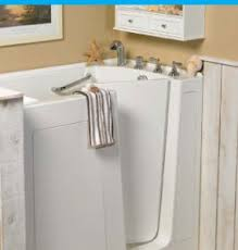 safe accessible roll in showers and walk in bath tubs walk in