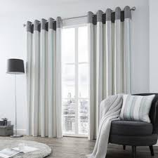 Blue Striped Curtains Blue Striped Curtains View Curtains Online Now Terrys Fabrics