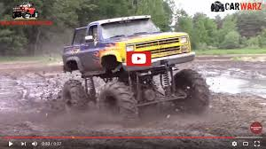monster truck mud bogging videos the muddy news shake and bake chevy mega truck ripping it up at