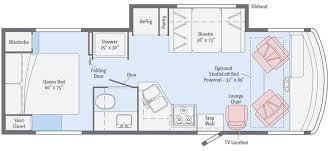 winnebago rialta rv floor plans rv cer floor plans