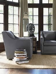 Upholstered Swivel Chairs For Living Room Lexington Upholstery Barrier Swivel Chair Lexington Home Brands