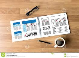 website designer working layout sketch drawing software media ww