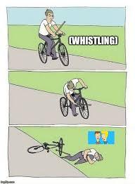 Bike Meme - bike fall meme generator imgflip