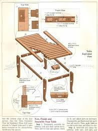 Woodworking Plans For Table And Chairs by Breakfast Table And Chairs Plans U2022 Woodarchivist