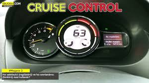 how to use renault megane 3 cruise control youtube