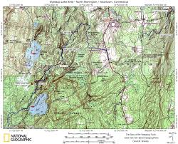 Ri Map Trail Maps Story Of The Yawgoog Trails