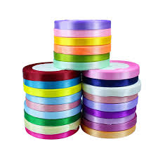 cheap satin ribbon faced satin ribbon 25mm x 25m aliexpresscom buy 1cm wide