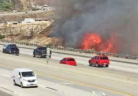 California Wildfires Burn Cars by California Fires Threaten Thousands Of Homes 1 Body Found Wjar