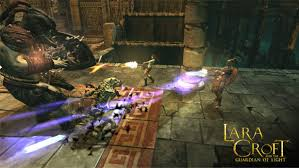 Tomb Raider Guardian Of Light Lara Croft And The Guardian Of Light Game Ps3 Playstation
