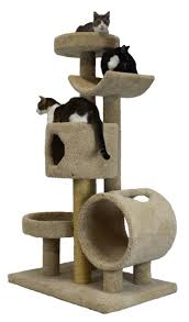 Cat Treehouse Cat Trees For Large Cats Crazy Cat Lady Magazine