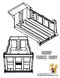 dump truck coloring pages dump trucks free construction