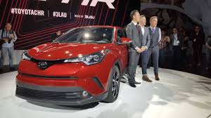 crossover toyota toyota u0027s new c hr crossover has some crazy styling fortune