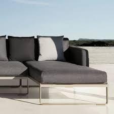 Gandia Blasco Flat Modern Outdoor Sofa Modular  Stardust - Modern outdoor sofa