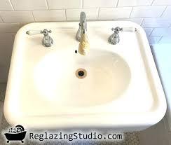 refinish bathroom sink top refinishing bathroom sinks sink refinishing la ca refinish bathroom