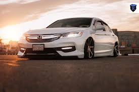 stanced honda honda accord slammed to the ground on rohana custom wheels u2014 carid