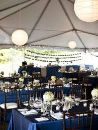 navy blue table linens sarasota wedding at the field club from liga photography navy